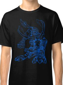 Wild Metalgarurumon - Color Ink Classic T-Shirt