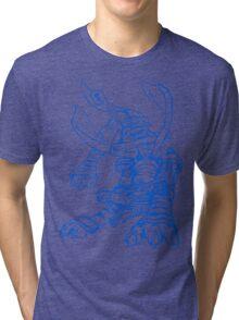 Wild Metalgarurumon - Color Ink Tri-blend T-Shirt