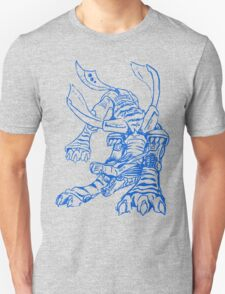 Wild Metalgarurumon - Color Ink Unisex T-Shirt