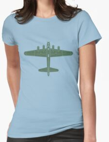 Boeing B-17 Flying Fortress Womens Fitted T-Shirt