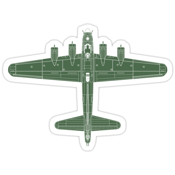 Boeing B-17 Flying Fortress by zoidberg69