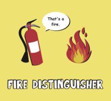 Fire Distinguisher  One Piece - Short Sleeve