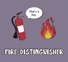 Fire Distinguisher  Kids Tee