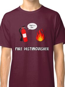 Fire Distinguisher  Classic T-Shirt