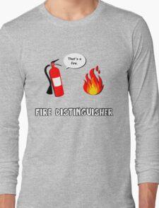 Fire Distinguisher  Long Sleeve T-Shirt