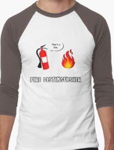 Fire Distinguisher  Men's Baseball ¾ T-Shirt