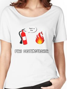Fire Distinguisher  Women's Relaxed Fit T-Shirt