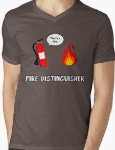 Fire Distinguisher  Mens V-Neck T-Shirt