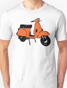 orange vespa px T-Shirt