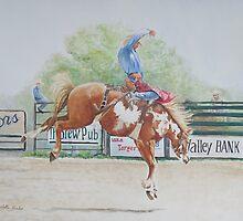 Saddle Bronc by Charlotte Yealey