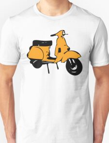 light orange vespa px T-Shirt