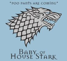 Poo Pants Are Coming - Stark Baby by Maurece