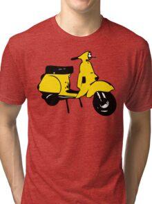 yellow vespa px Tri-blend T-Shirt