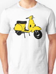 yellow vespa px T-Shirt