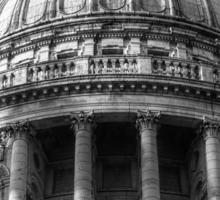 Saint Paul's Cathedral 1 B&W Sticker
