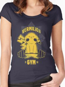 Christmas Gift Vermilion Gym Unisex Tshirt Women's Fitted Scoop T-Shirt