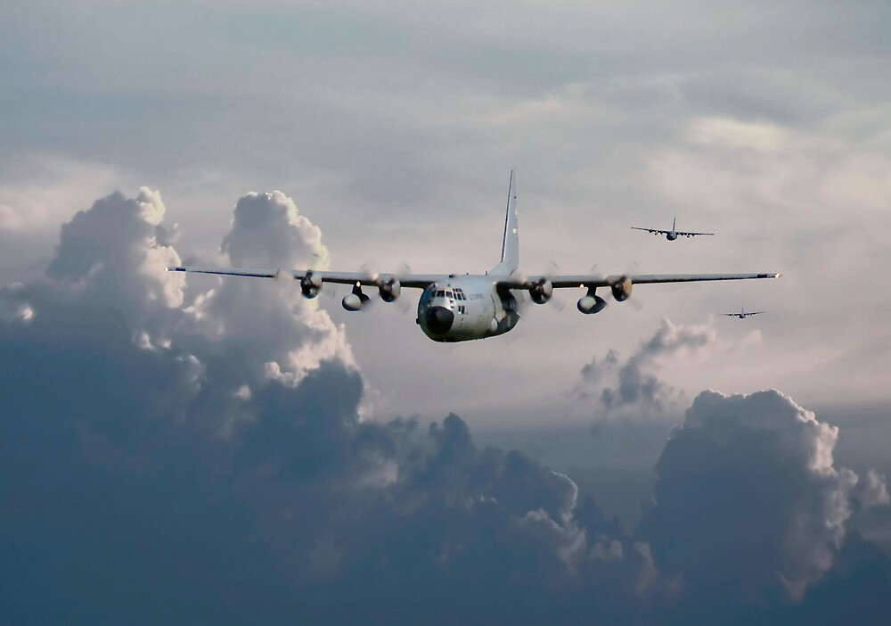 C130-Hercules ....In Trail by Pat Speirs
