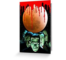 Universal Monsters Greeting Card