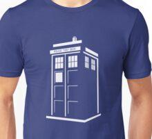 Bigger on the inside - White Unisex T-Shirt
