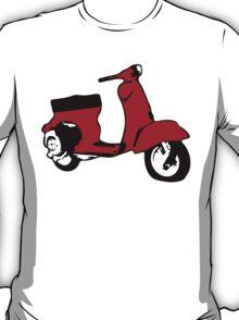 Red Vespino T-Shirt