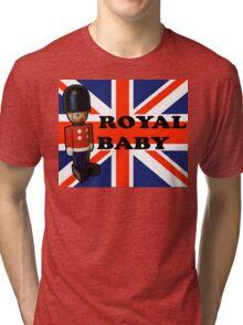 Royal Baby Soldier Tri-blend T-Shirt