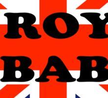 Royal Baby Soldier Sticker