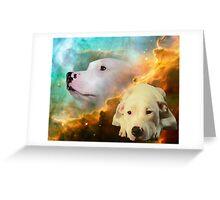 Xerxes - Cosmic Canine Greeting Card