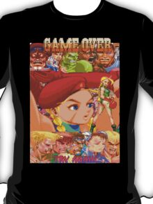 Game Over, Cammy Wins T-Shirt