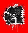 Thompson Wrestling Splatter Logo by popnerd