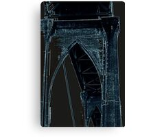 St Johns Bridge # 5 Canvas Print