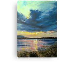 love Irish sky Canvas Print