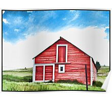 Colorado Barn Poster