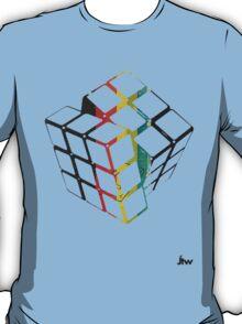 rubix cube t-shirt design  T-Shirt