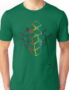 rubix cube t-shirt design  Unisex T-Shirt