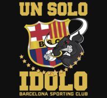 """Barcelona Sporting Club """"Un solo Idolo"""" by mqdesigns13"""
