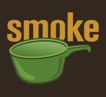 Smoke Green Pot by BroadcastMedia