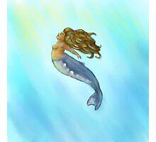 Humpback Mermaid Photographic Print