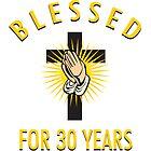 Religious 30th Birthday Gift by thepixelgarden