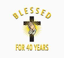 Religious 40th Birthday Gift Unisex T-Shirt