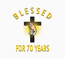 Religious 70th Birthday Gift Unisex T-Shirt