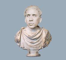 Classy Nicolas Cage Marble Bust  by Dhruv Shankar