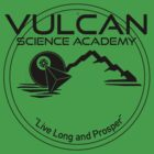 Vulcan Science Academy Star Trek Spock T-shirt Tee by chadkins