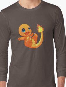 Chibi charander Long Sleeve T-Shirt