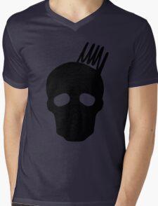Olympus Skull Mens V-Neck T-Shirt