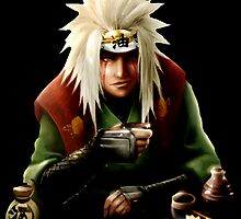 The Toad Man Jiraiya by jpmdesign