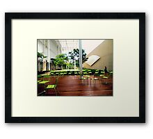 Boston Chairs Framed Print