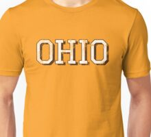 Block Letter Ohio Unisex T-Shirt
