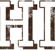Block Letter Ohio Sticker
