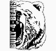 Built - 4 - Bears T3 black Men's Baseball ¾ T-Shirt