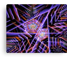 Engineering Spiders Webs Canvas Print